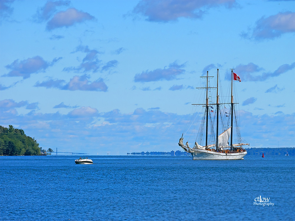 Empire Sandy at Brockville Tall Ships Festival