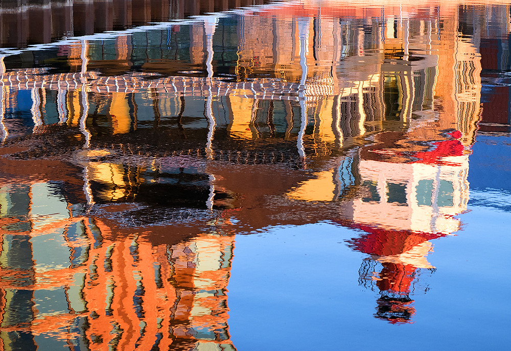 Tall Ships Landing Reflection