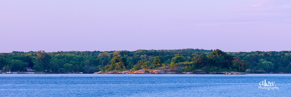 Old Man Island Brockville dawn sun sunrise visual separation