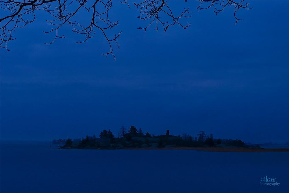 Thousand Islands, cloudy dawn