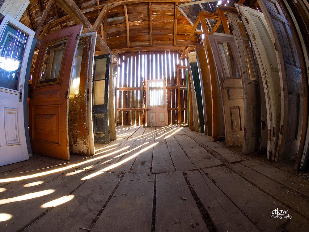 barn, doors, Balleycanoe 19th century architectural salvage
