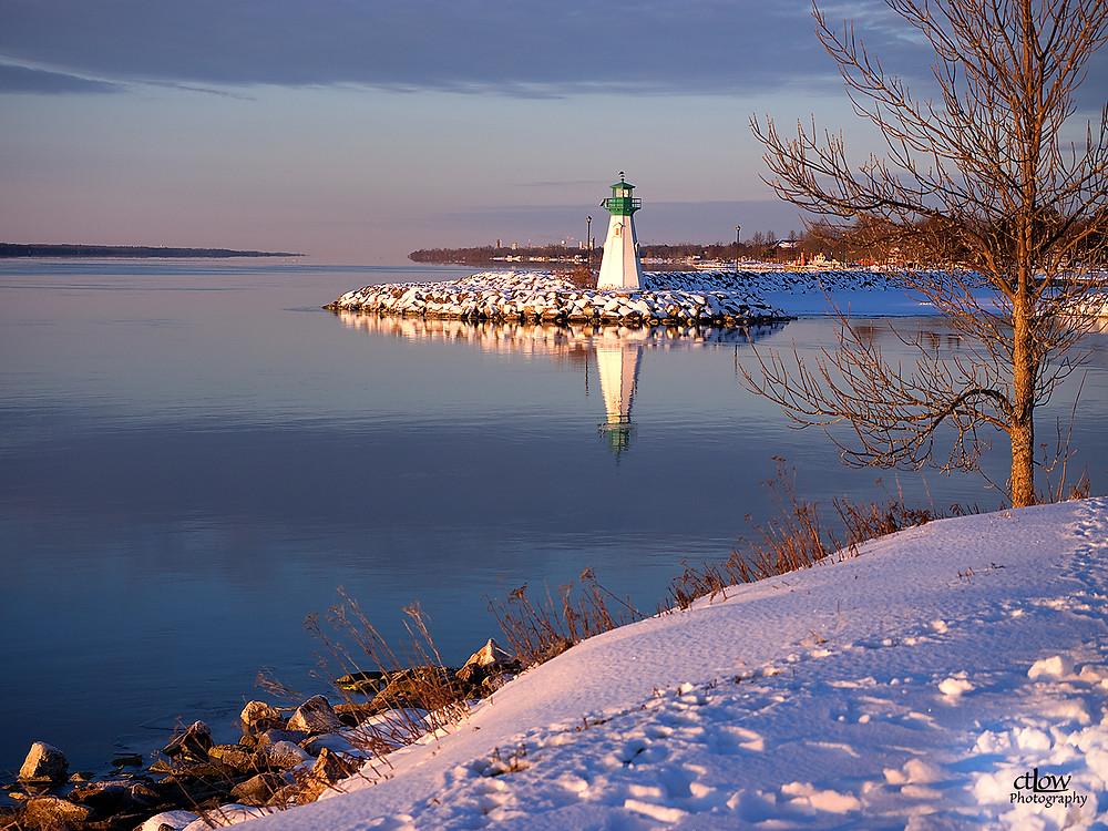 Prescott Harbour, dawn, Golden Hour, Light