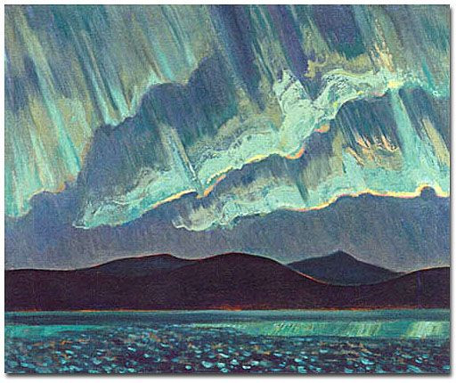 A. Y. Jackson - Aurora Borealis