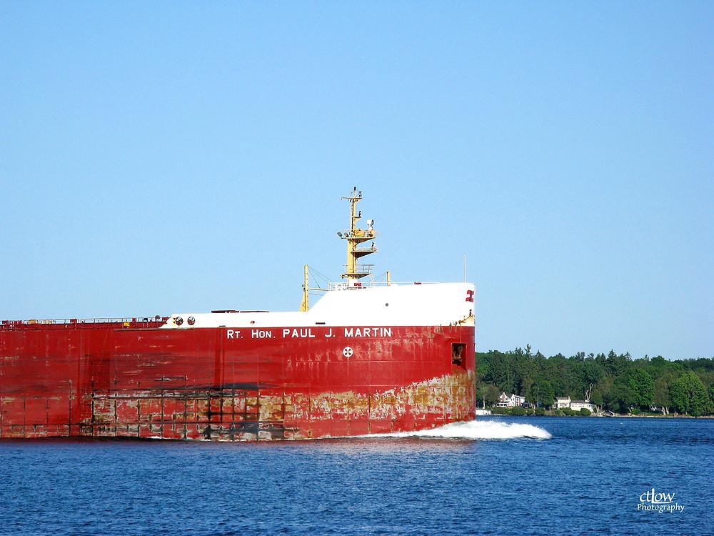 Freighter ship Rt. Hon. Paul J. Martin