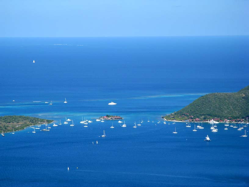 Gorda Sound, Virgin Gorda, BVIs