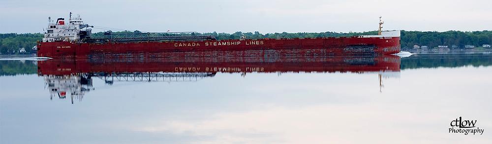 CSL Niagara reflection