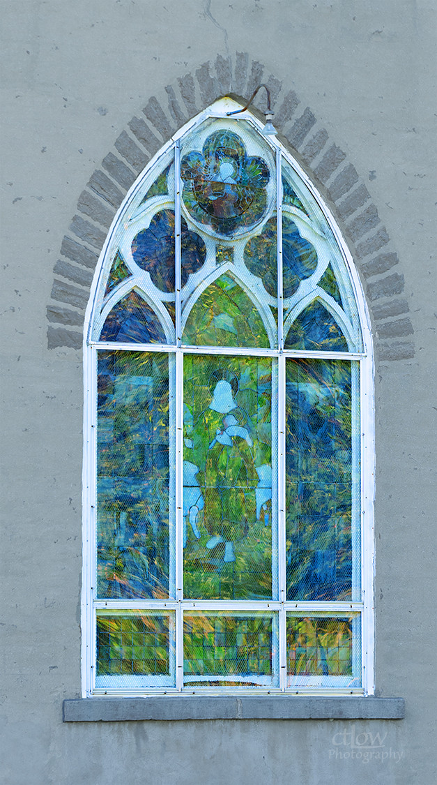 St. James Church stained-glass window