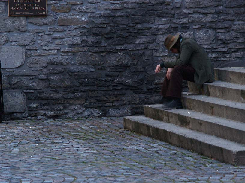 Sitting on Steps by ctLow