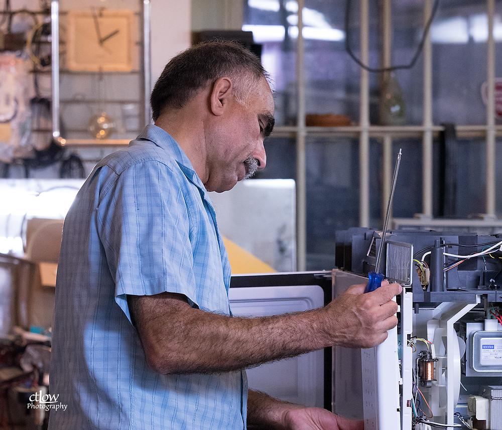 Ahmad at Kinda Electronics