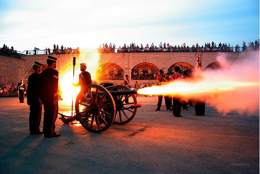 Old Fort Henry Sunset Ceremony Final Shot
