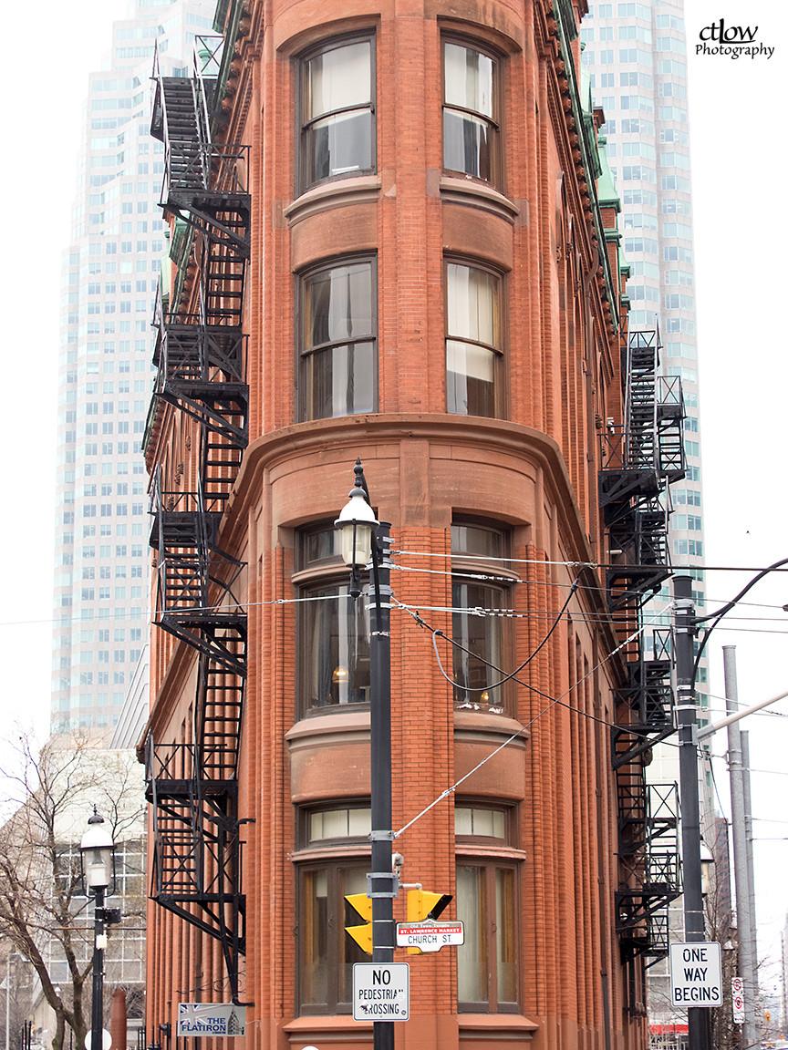The Flatiron (Gooderham) Building in Toronto