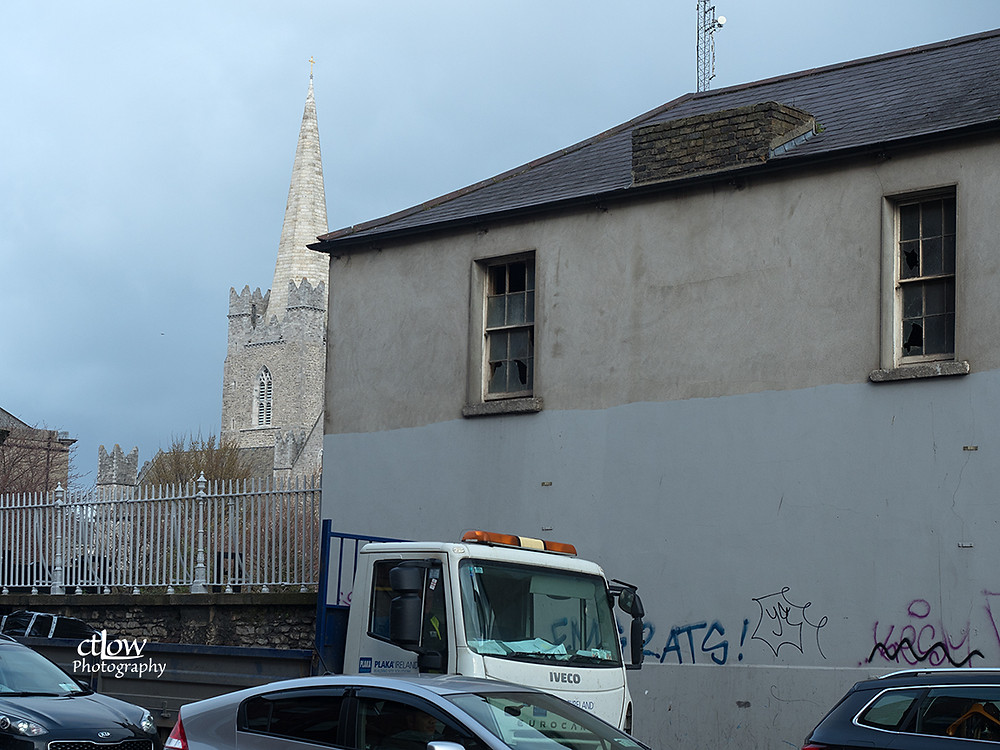 St. Patrick's Church spire, in context