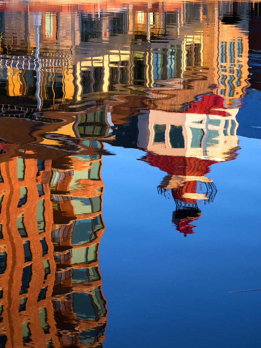 Tall Ships, Brockville, Ontario - reflection