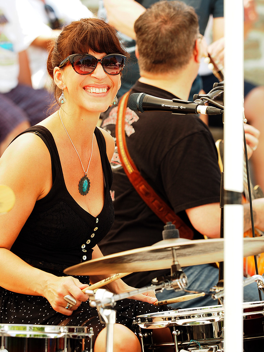 River City Junction vocalist/percussionist