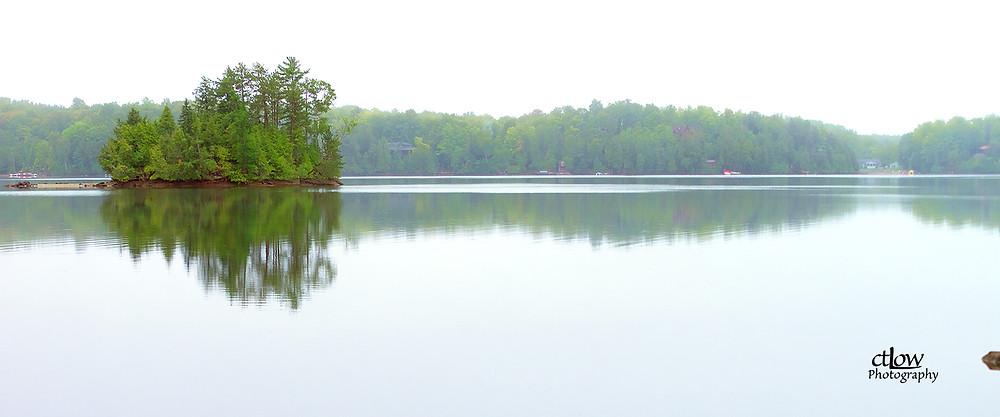 Kawartha area lake view