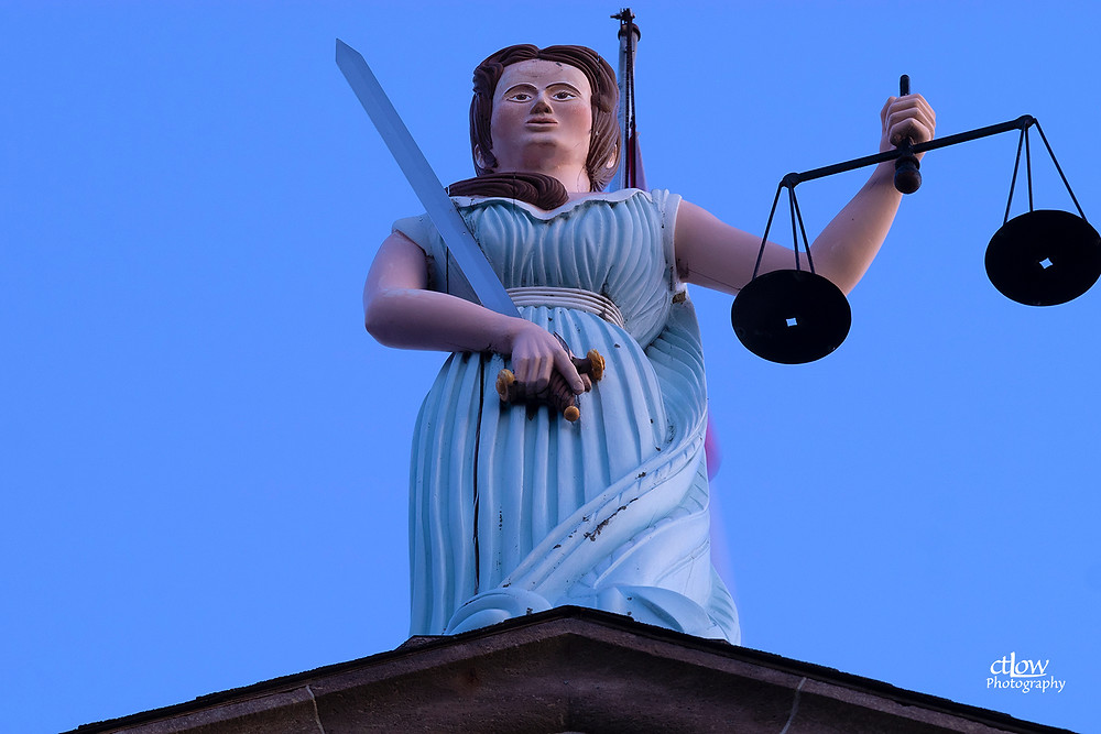 Sally Grant statue provincial courthouse