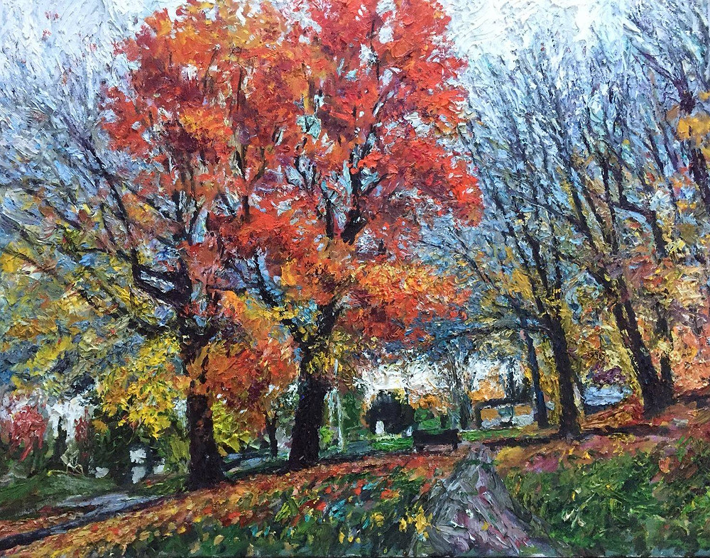 Zinour landscape painting