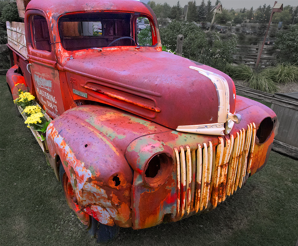 Ancient Pickup Truck
