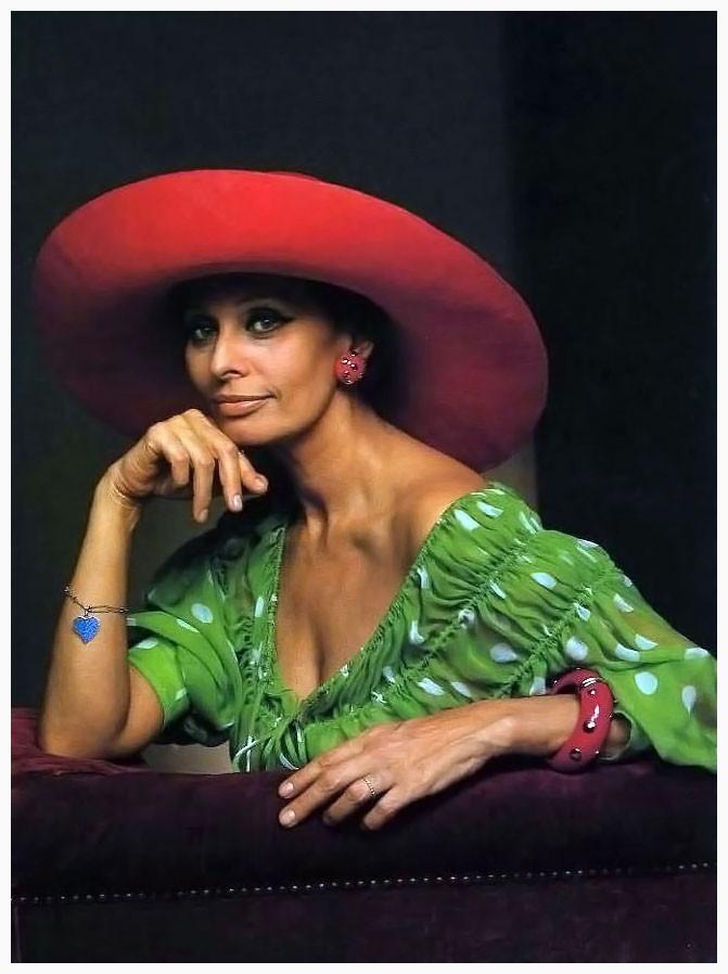 Sophia Loren by Yousuf Karsh