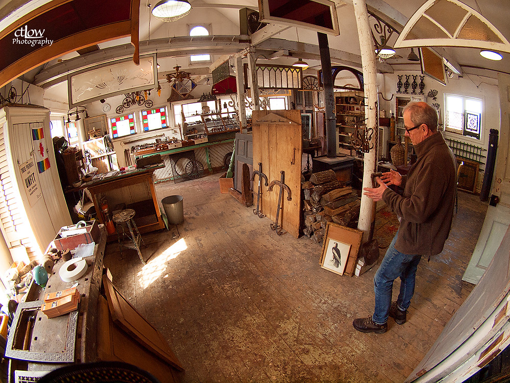 Balleycanoe Store, with owner John Sorensen