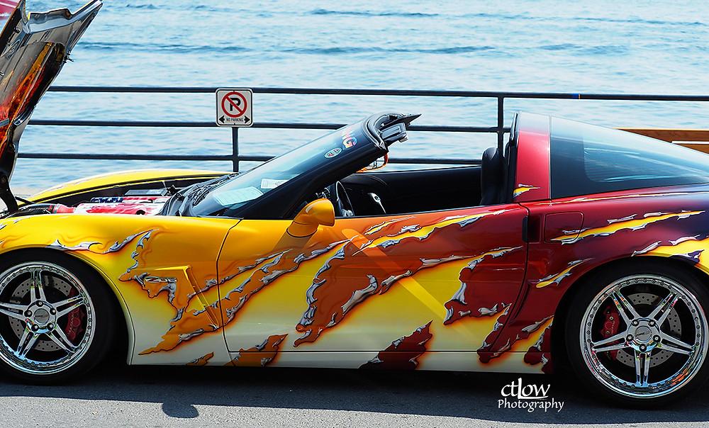 Corvette - shredded design