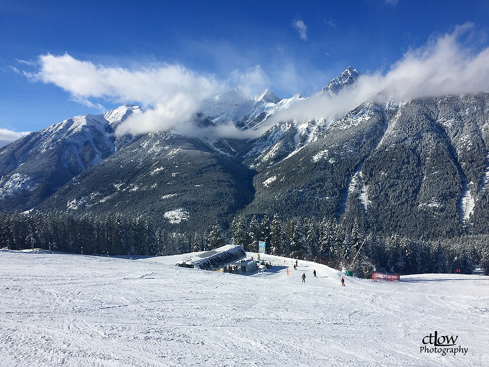 ski slope at Panorama Mountain Resort