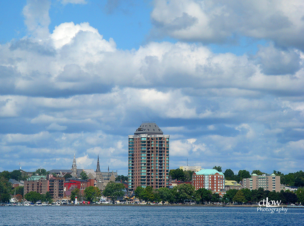 Brockville from the water