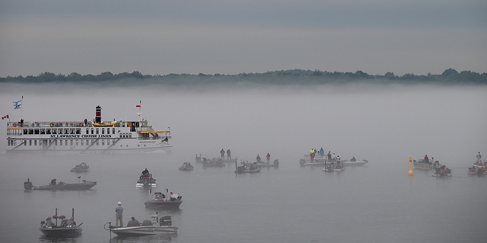Canadian Empress, Fog, Fishing Derby
