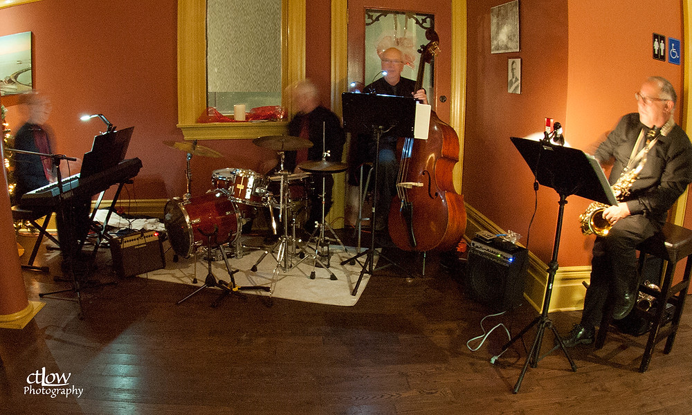 band all spread out - not a good photo-grouping