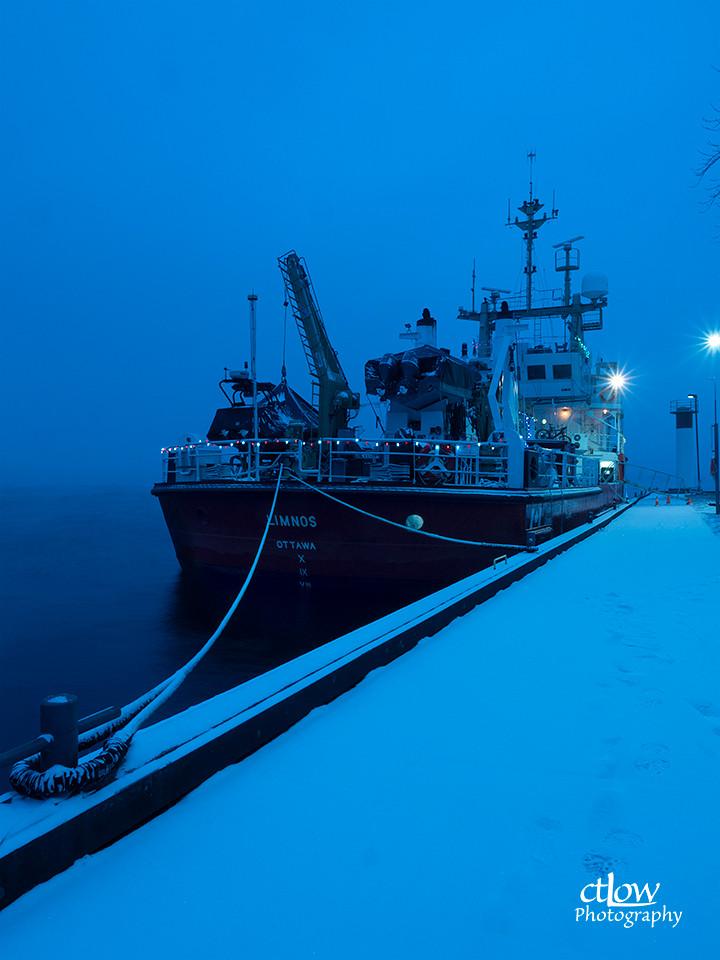 Limnos Canadian Coast Guard ship