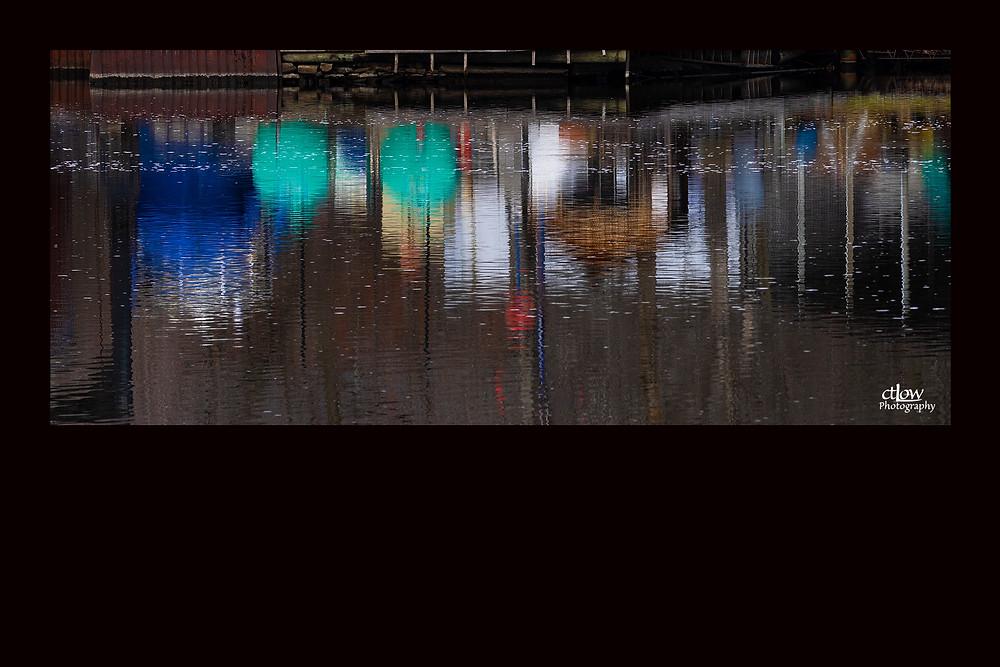 Ayling's boatyard Rideau River reflections