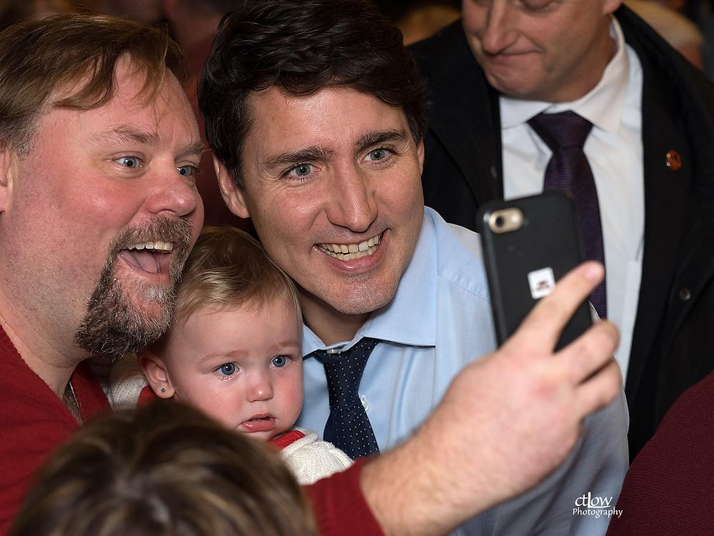 toddler of uncertain political affiliation
