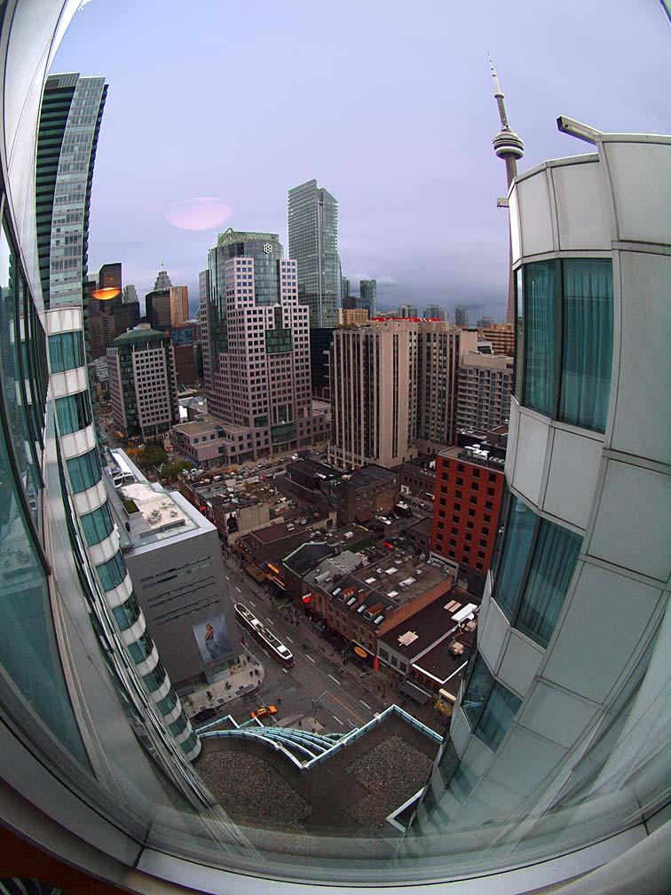 Toronto city-scape, all in focus
