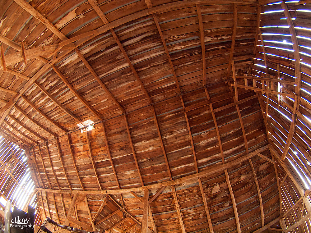 Balleycanoe barn ceiling