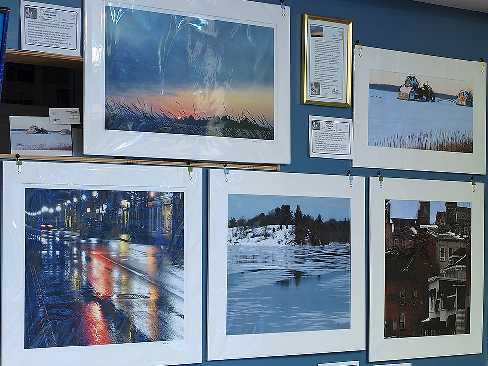 prints for sale, Charles T. Low Photography, Richard's Coffeehouse, Brockville, Ontario