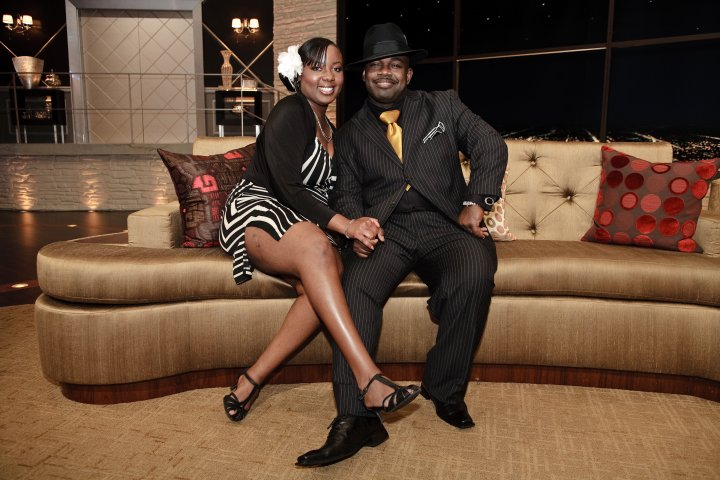 Comedian Rodney Perry&Erika J. Wood