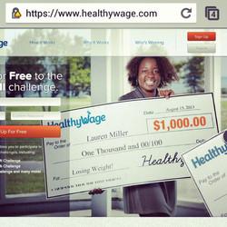 Healthy Wage Print Ad