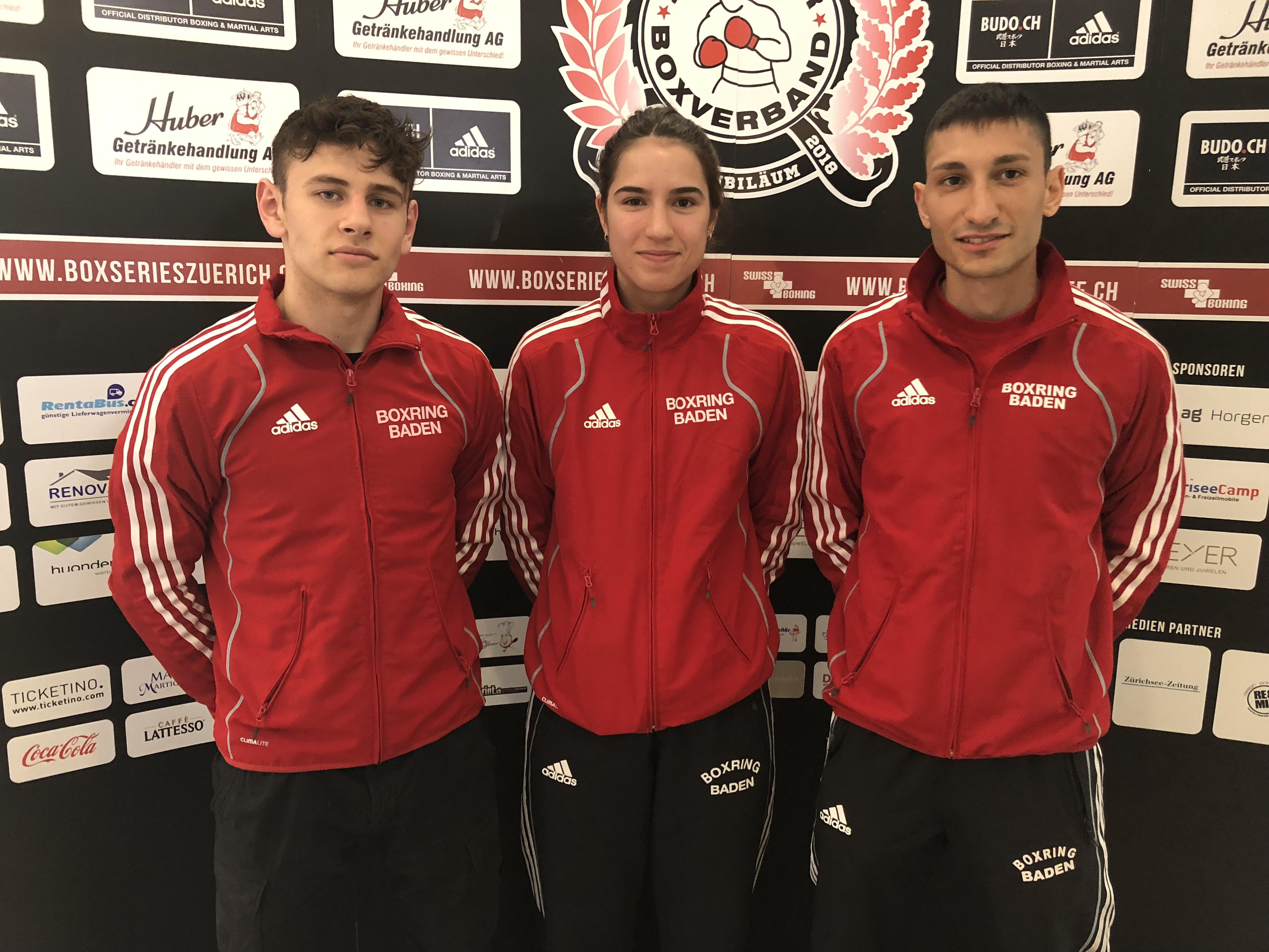 2018 April: Team Baden bei der Deutschschweiz-Tessiner Meisterschaft