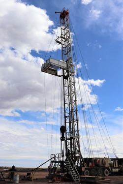 workover rig - North Dakota