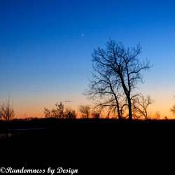 Twighlight on the Missouri River-ND