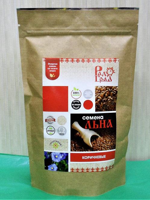 Семена льна коричневого, 400 гр.