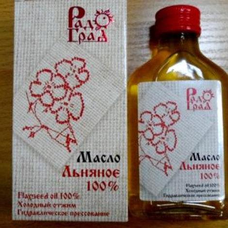 """Масло льняное """"РадоГрад, 100гр."""