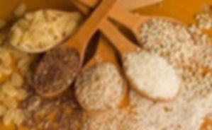 """Продукты для диеты без глютена, бурый рис, зеленая гречка, амарант, специи в интернет-магазине здорового питания """"Алиса"""" в Хабаровске."""