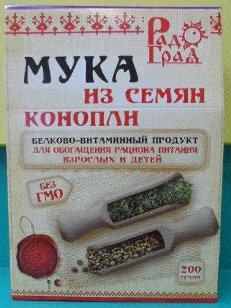 Мука из семян конопли 200 гр