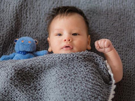 Neugeborenen-Fotoshooting in Köln