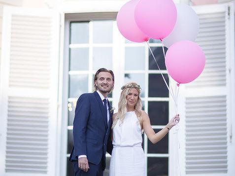 After-Wedding-Shooting am Schloss Benrath