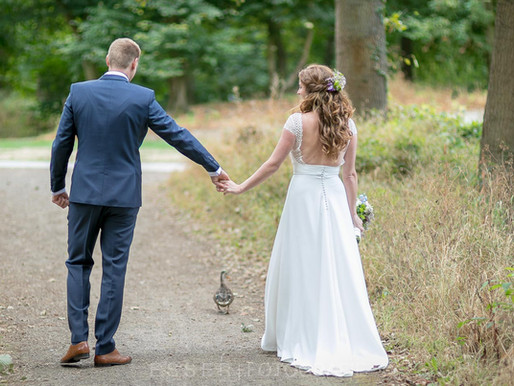 Ente gut, alles gut - Als Hochzeitsfotograf an der Villa Krüppel in Grevenbroich
