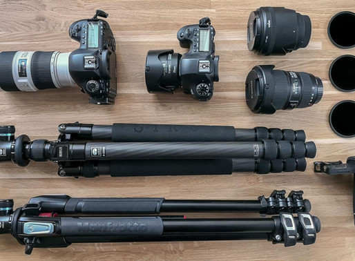 Meine Ausrüstung für Landschaftsfotografie und Porträtshootings 2020