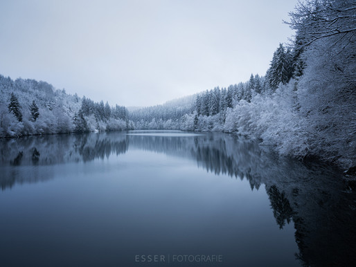 Winter-Landschaftsfotografie in der Nordeifel
