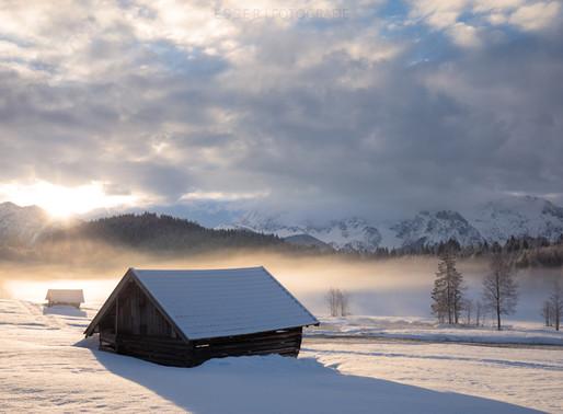 Winter-Landschaftsfotografie in Deutschland, Österreich und in der Schweiz